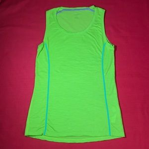 New ICEBREAKER MERINO WOOL women sport top tank S